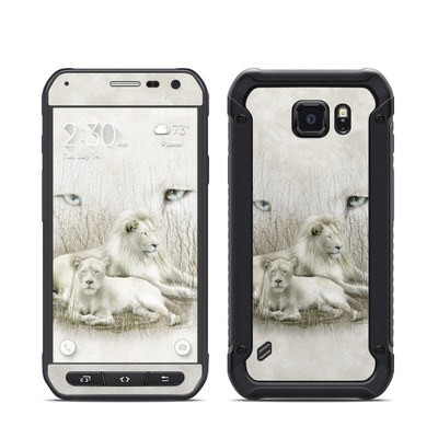 Samsung Galaxy S6 Active Skin - White Lion