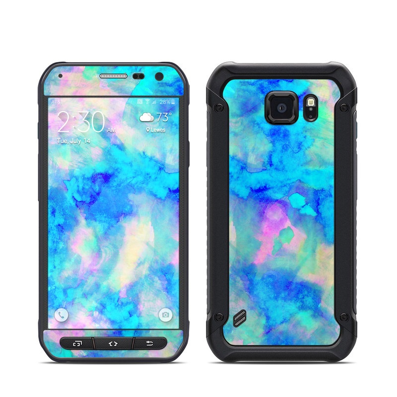 finest selection b0e6c 10c3d Samsung Galaxy S6 Active Skin - Electrify Ice Blue