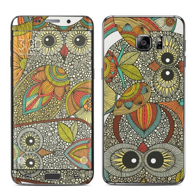 Samsung Galaxy S6 Edge Plus Skin - 4 owls