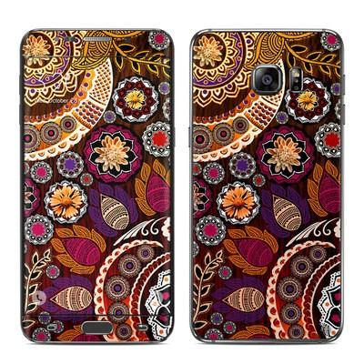 Samsung Galaxy S6 Edge Plus Skin - Autumn Mehndi