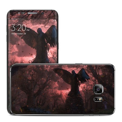 Samsung Galaxy S6 Edge Plus Skin - Black Angel