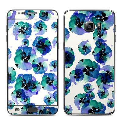 Samsung Galaxy S6 Edge Plus Skin - Blue Eye Flowers