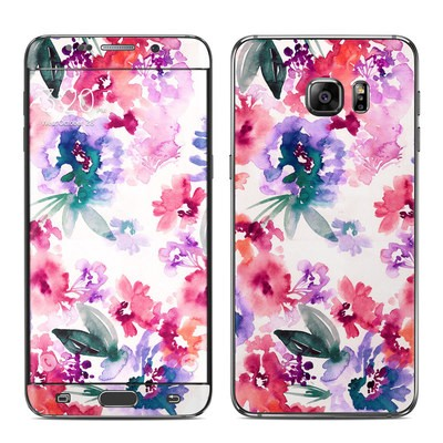 Samsung Galaxy S6 Edge Plus Skin - Blurred Flowers
