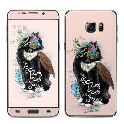 Samsung Galaxy S6 Edge Plus Skin - Black Magic