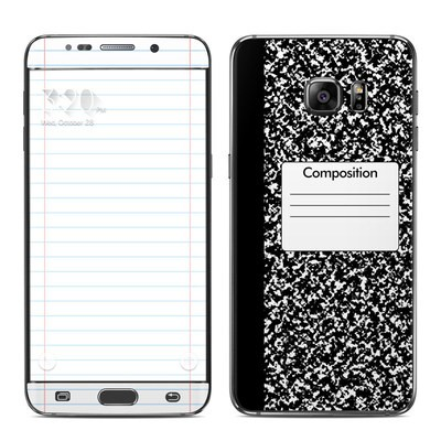 Samsung Galaxy S6 Edge Plus Skin - Composition Notebook