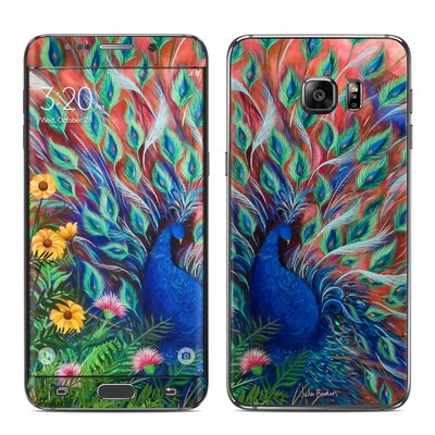 Samsung Galaxy S6 Edge Plus Skin - Coral Peacock