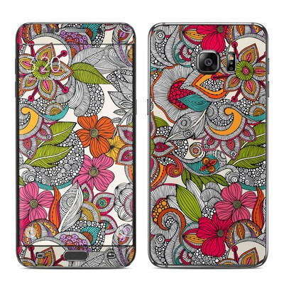 Samsung Galaxy S6 Edge Plus Skin - Doodles Color
