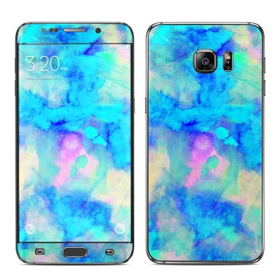 Samsung Galaxy S6 Edge Plus Skin - Electrify Ice Blue