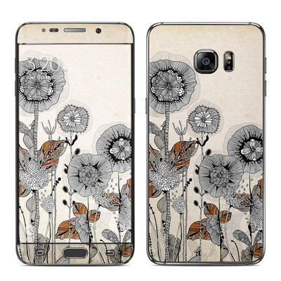 Samsung Galaxy S6 Edge Plus Skin - Four Flowers