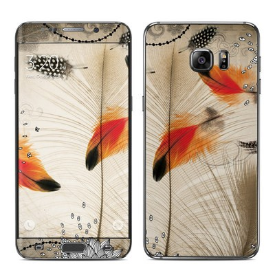Samsung Galaxy S6 Edge Plus Skin - Feather Dance