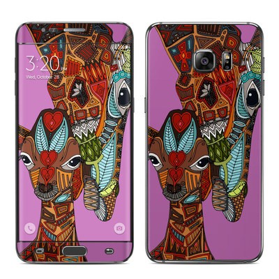 Samsung Galaxy S6 Edge Plus Skin - Giraffe Love