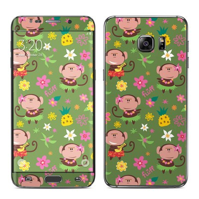 Samsung Galaxy S6 Edge Plus Skin - Hula Monkeys