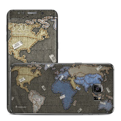 Samsung Galaxy S6 Edge Plus Skin - Jean Map