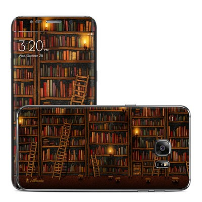 Samsung Galaxy S6 Edge Plus Skin - Library