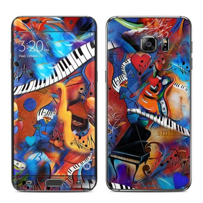 Samsung Galaxy S6 Edge Plus Skin - Music Madness