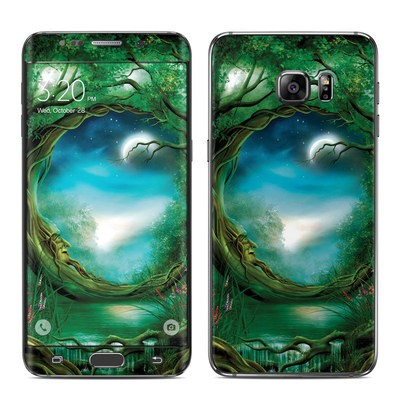 Samsung Galaxy S6 Edge Plus Skin - Moon Tree