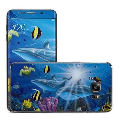 Samsung Galaxy S6 Edge Plus Skin - Ocean Friends