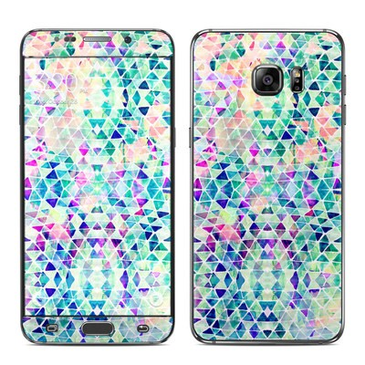 Samsung Galaxy S6 Edge Plus Skin - Pastel Triangle