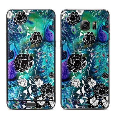 Samsung Galaxy S6 Edge Plus Skin - Peacock Garden