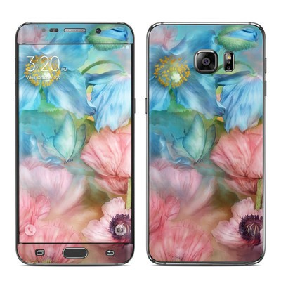 Samsung Galaxy S6 Edge Plus Skin - Poppy Garden