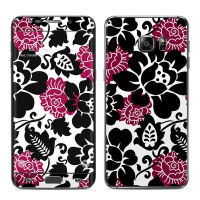 Samsung Galaxy S6 Edge Plus Skin - Rose Noir