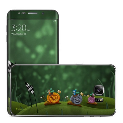 Samsung Galaxy S6 Edge Plus Skin - Snail Race
