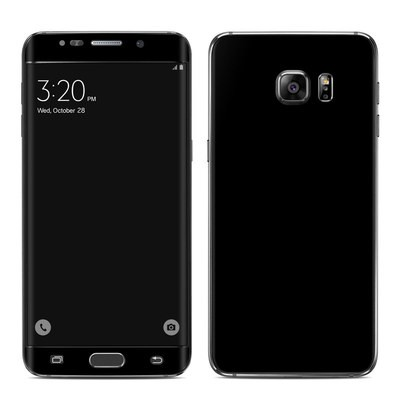 Samsung Galaxy S6 Edge Plus Skin - Solid State Black