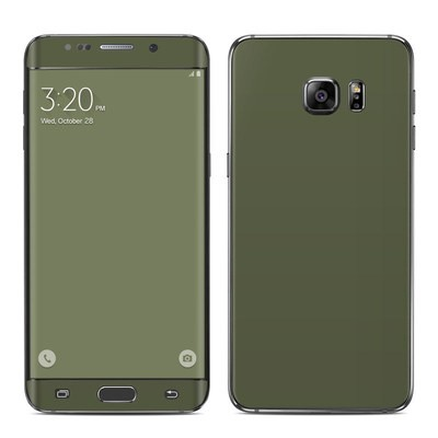 Samsung Galaxy S6 Edge Plus Skin - Solid State Olive Drab
