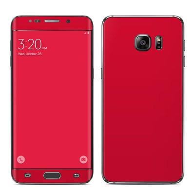 Samsung Galaxy S6 Edge Plus Skin - Solid State Red
