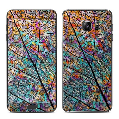 Samsung Galaxy S6 Edge Plus Skin - Stained Aspen