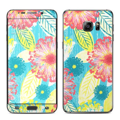 Samsung Galaxy S6 Edge Plus Skin - Tickled Peach