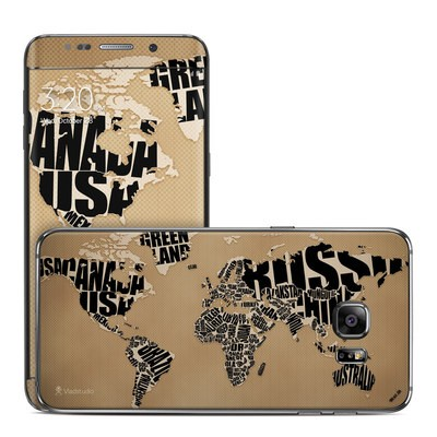 Samsung Galaxy S6 Edge Plus Skin - Type Map