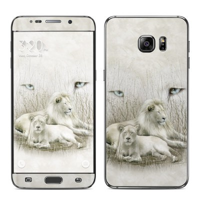 Samsung Galaxy S6 Edge Plus Skin - White Lion