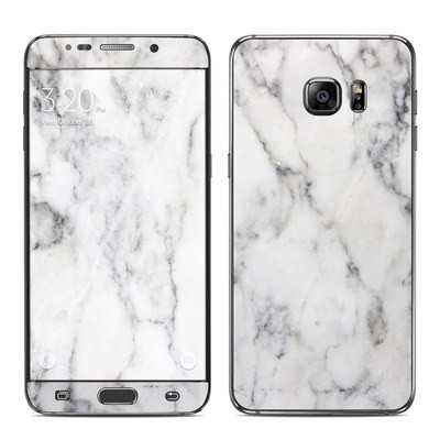 Samsung Galaxy S6 Edge Plus Skin - White Marble