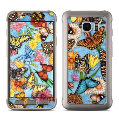 Samsung Galaxy S7 Active Skin - Butterfly Land