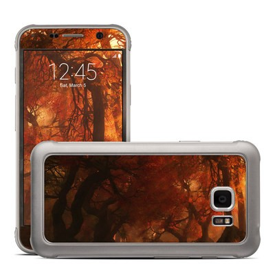 Samsung Galaxy S7 Active Skin - Canopy Creek Autumn