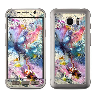Samsung Galaxy S7 Active Skin - Cosmic Flower