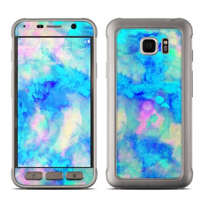Samsung Galaxy S7 Active Skin - Electrify Ice Blue