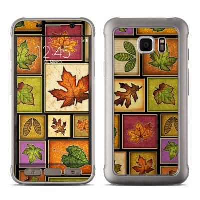 Samsung Galaxy S7 Active Skin - Fall Leaves