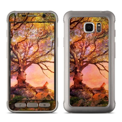 Samsung Galaxy S7 Active Skin - Fox Sunset