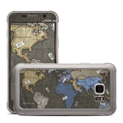 Samsung Galaxy S7 Active Skin - Jean Map