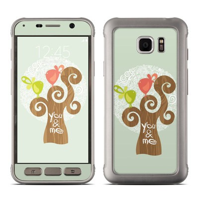 Samsung Galaxy S7 Active Skin - Two Little Birds