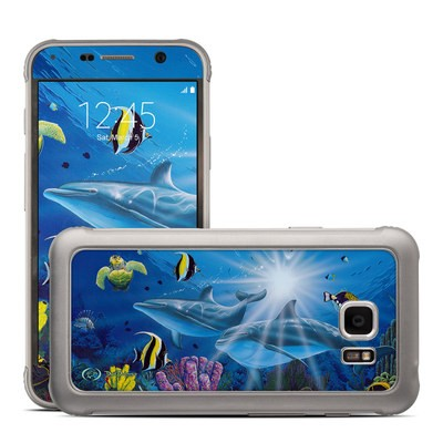 Samsung Galaxy S7 Active Skin - Ocean Friends