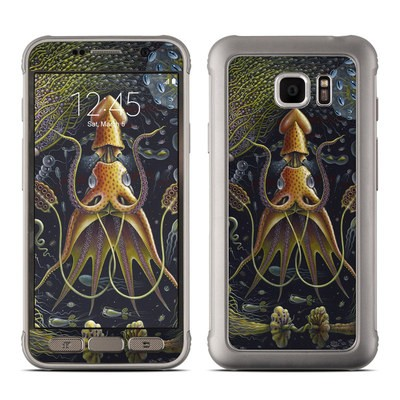 Samsung Galaxy S7 Active Skin - Sea Flowers