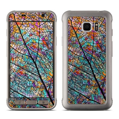 Samsung Galaxy S7 Active Skin - Stained Aspen
