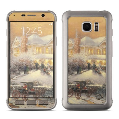 Samsung Galaxy S7 Active Skin - Victorian Christmas