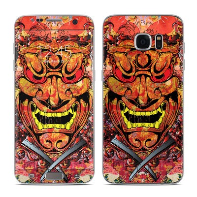 Samsung Galaxy S7 Edge Skin - Asian Crest