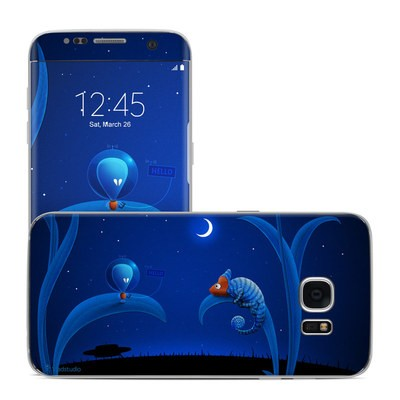 Samsung Galaxy S7 Edge Skin - Alien and Chameleon