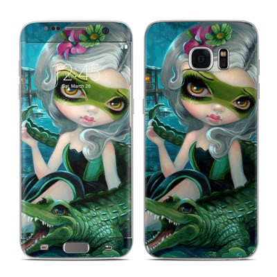 Samsung Galaxy S7 Edge Skin - Alligator Girl