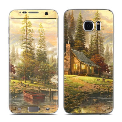 Samsung Galaxy S7 Edge Skin - A Peaceful Retreat